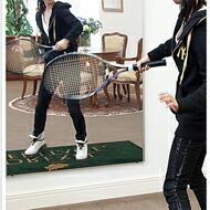 テニスのフォームチェック