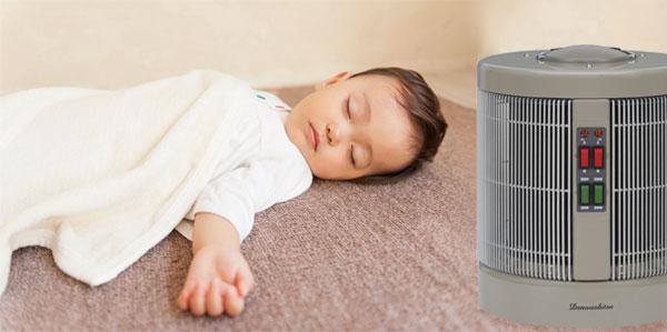 赤ちゃんの就寝時におすすめ
