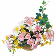 光触媒 人口観葉植物 造花 アートフラワー 光の楽園 ミニタイプ