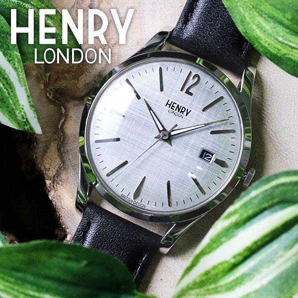 d59da089c6 ヘンリーロンドン HENRY LONDON ピカデリー Piccadilly 39mm クオーツ ユニセックス レディース メンズ 腕時計 ウォッチ  インスタグラム 人気 SNS 話題 シルバー