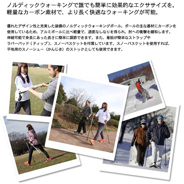 how to use nordic walking sticks properly