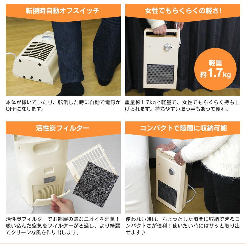 トイレ暖房 暖だんスマート[交換用フィルター1枚付き]