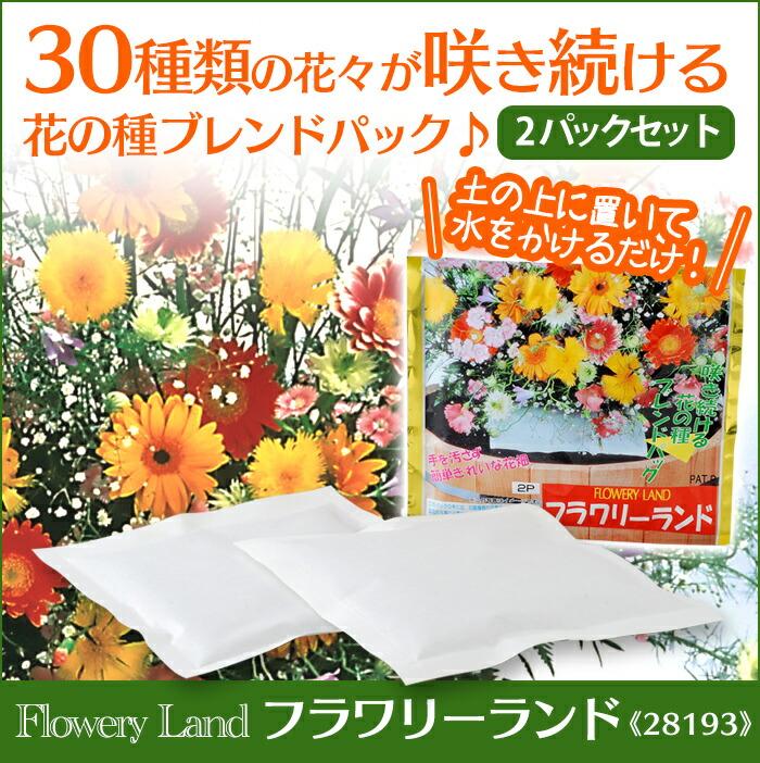 花の種ブレンドパック フラワリーランド 28193 【2パックセット】