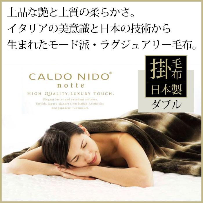 カルドニード CALDO NIDO 掛け毛布【ダブル】