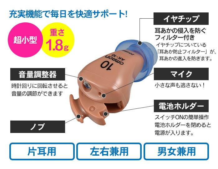 オムロン イヤメイトデジタル AK-10 ��課税】�新�掲載】�カタログ掲載1610】