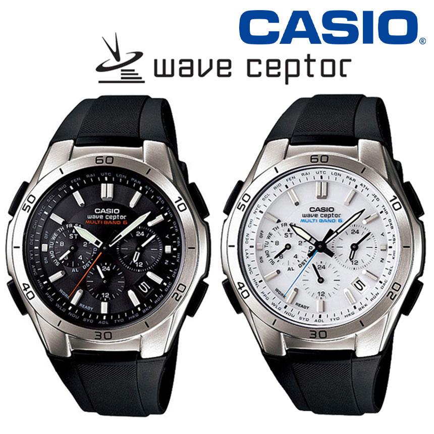CASIOクロノグラフソーラー電波時計