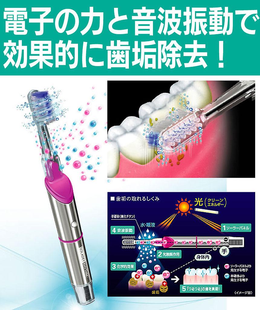 音波振動歯ブラシソラデーリズム