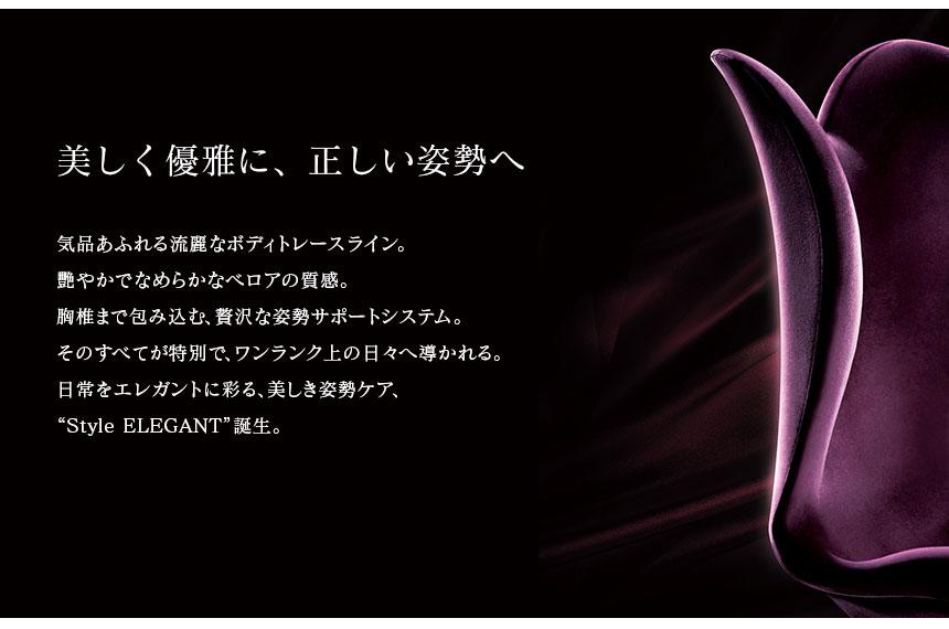バイオレット style スタイルエレガント メイク 姿勢 ボディ 【A】 スタイル MTG 送料無料 ディープブラウン