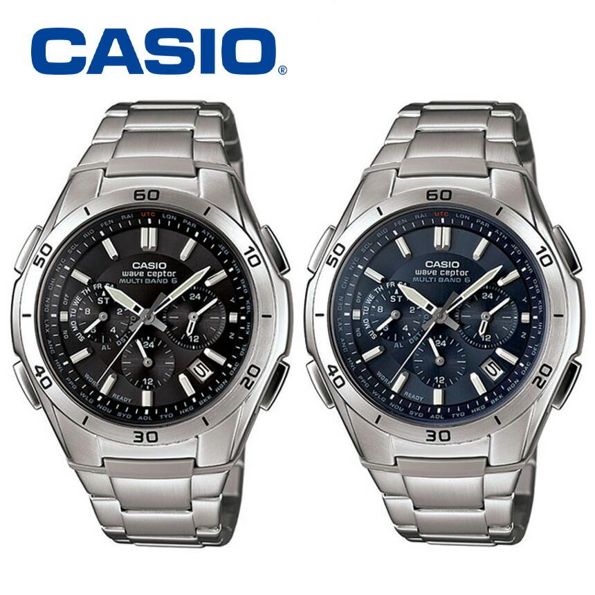 カシオ電波ソーラー腕時計マルチバンド6