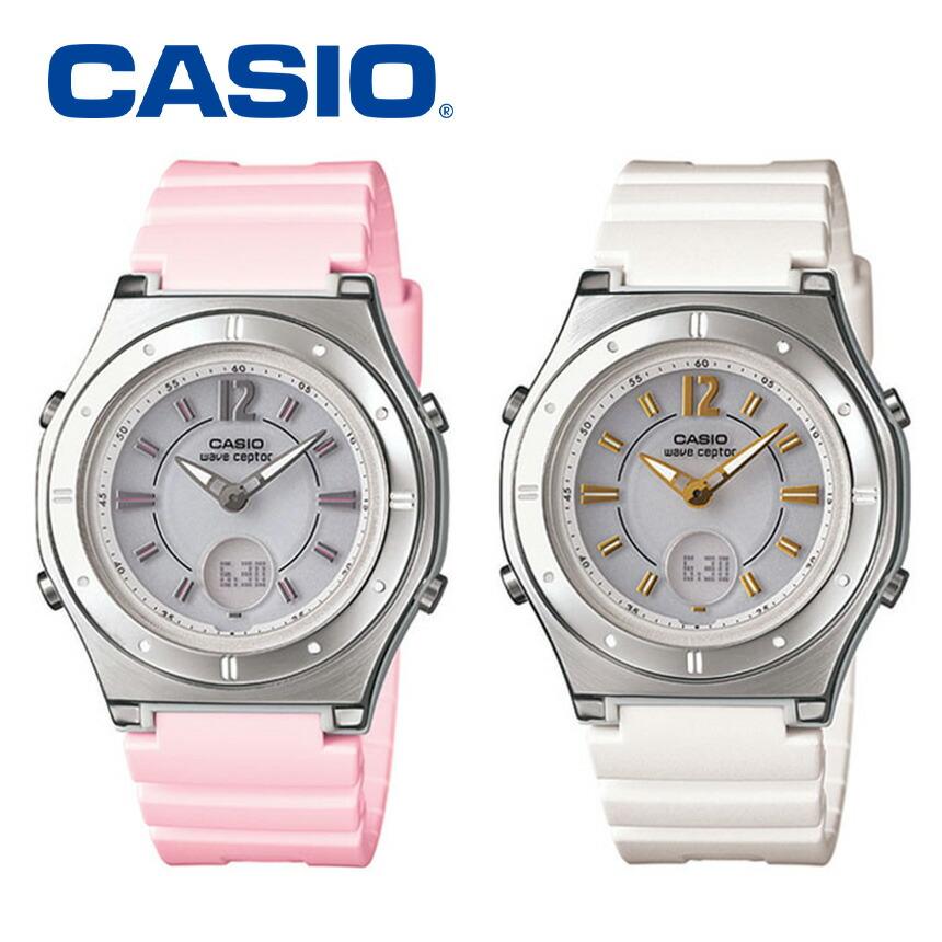CASIO電波ソーラー腕時計
