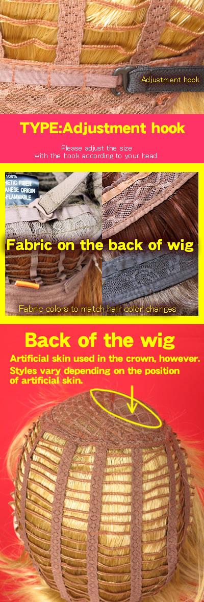 Back of wig