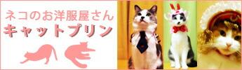 ネコのお洋服屋さんキャットプリン