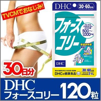 売り上げ個数2800万個突破☆DHCフォースコリー30日分(120粒)