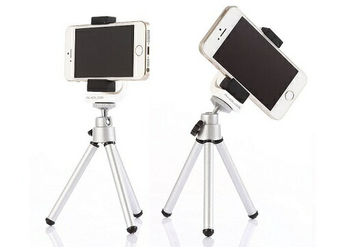 Smart phone holder + Tripod iPhone・スマホ 三脚ホルダー