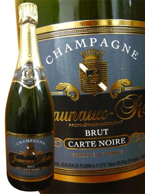 楽天市場】ジョノー・ロバン・ブリュット・カルト・ノワール・R.M生産者元詰(ブラン・ド・ノワール)ピノ・ノワール30%・ピノムニエ70%・AOCシャンパーニュJeaunaux  Robin Champagne Brut Carte Noir (R.M) (Talus Saint Prix):うきうきワインの玉手箱