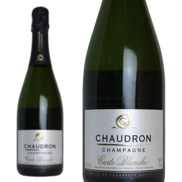 シャンパン ショードロン カルト ブランシュ ブリュット 750ml 正規
