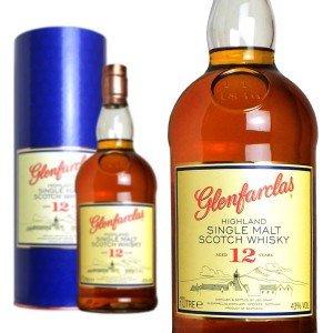 グレンファークラス・シングル・ハイランド・モルト・スコッチ・ウイスキー・12年・1Lビッグサイズ・43度・グレンファーグラス蒸留所元詰