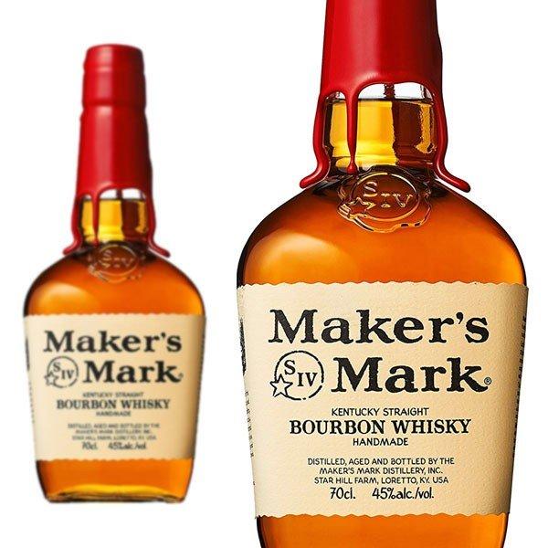【正規品】メーカーズマーク・バーボン・ウイスキー・正規代理店輸入品・レッド・トップ・700ml・45%