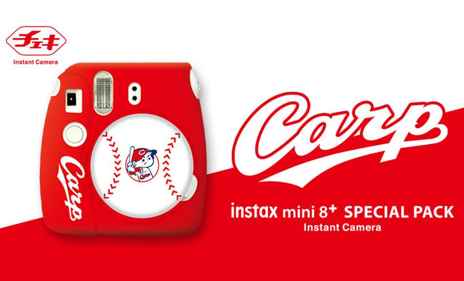 チェキ instax mini 8+(プラス) 広島東洋カープ