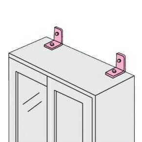 家具専用配送便イメージ 壁固定