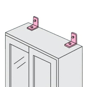 オフィス家具専用配送便壁固定