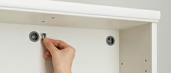 オプション加工:壁面固定補助具用穴加工