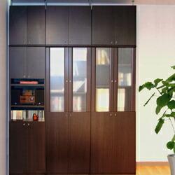 飾り棚付両開き扉タイプ イメージ画像