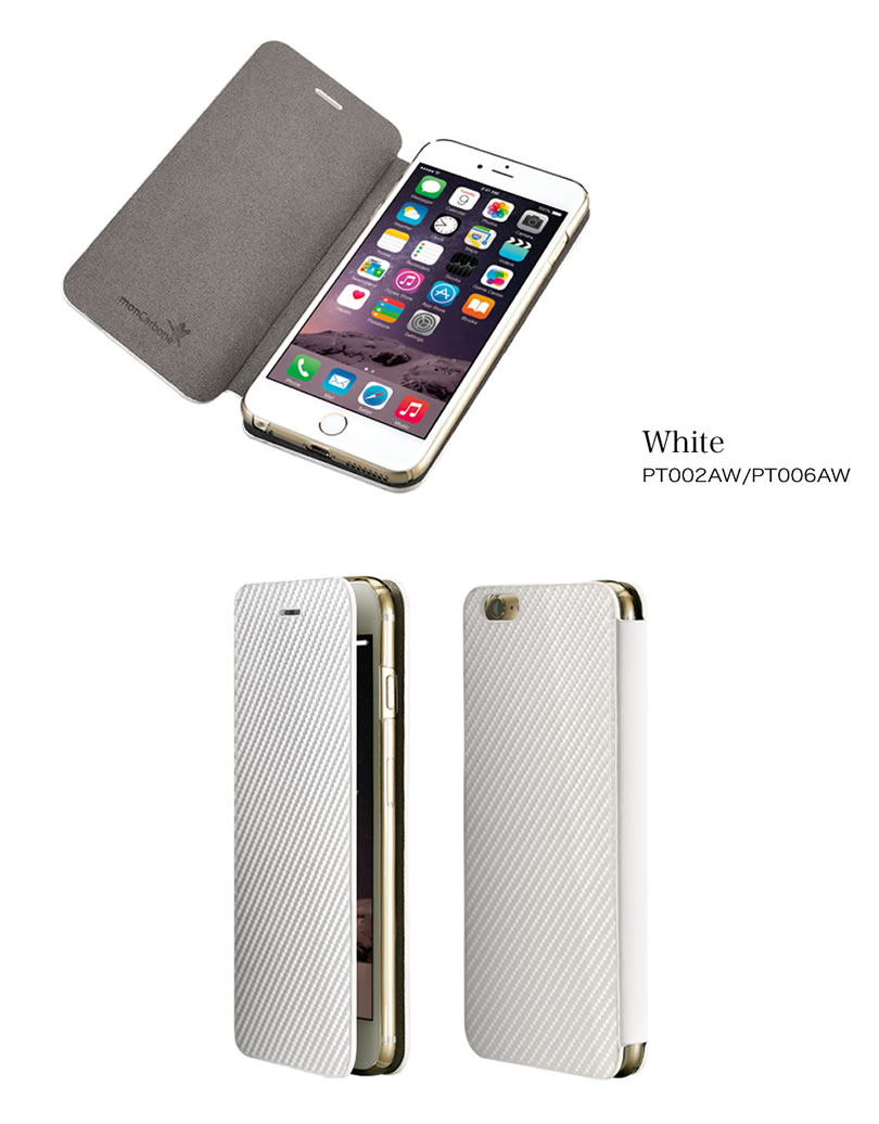 6eab74e1c7 iPhone6 Plus ケース iPhone6ケース iPhone6 / 手帳型ケース iPhone6s / monCarbone  Portfolio iPhone 6