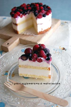 ベリーベリージェラートアイスケーキ