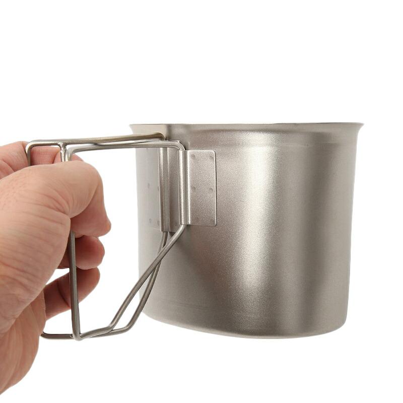 Type Stainless Steel Canteen Cup Rothco 512 Accesorios para mochilas G.I Acampada y senderismo