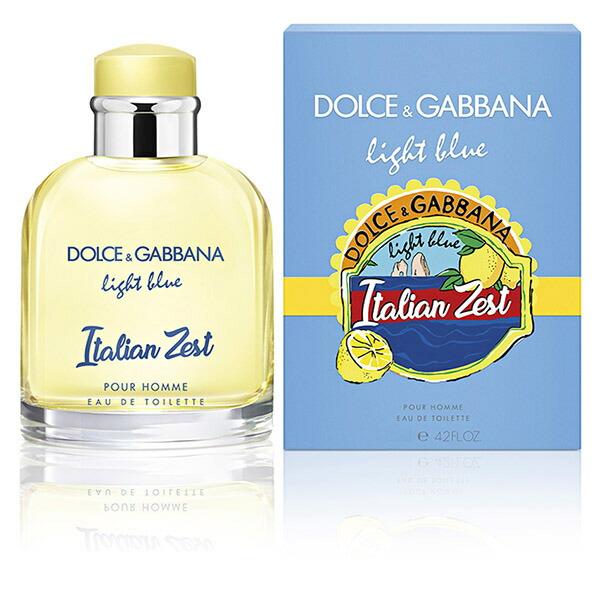 ドルチェ&ガッバーナ <BR>DOLCE&GABBANA <BR>ライトブルー <BR>イタリアン ゼスト <BR>プールオム <BR>EDT SP 75ml