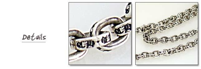 クロムハーツペイパーチェーンネックレス Paper Chain Necklace 51cm(20インチ)