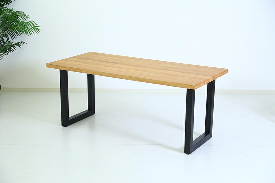 ホワイトオーク ダイニングテーブル 4人掛け~6人掛け 幅170cm ×80cm オーク 無垢