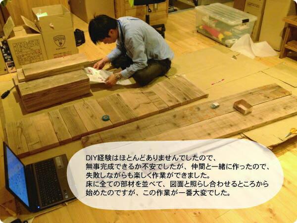DIYキット施工過程