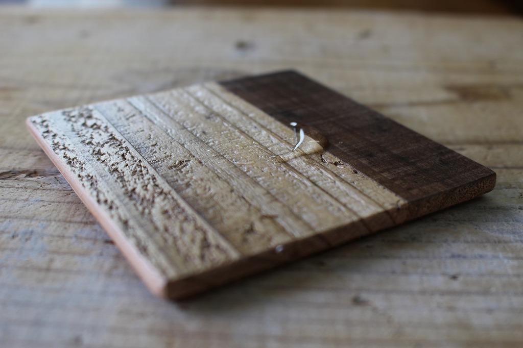OLD ASHIBA(足場板古材)組み木コースター