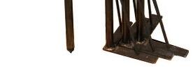 アイアンテーブル脚独立4本タイプ