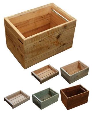 OLD ASHIBA 足場板古材 ラック ボックス 重ねる 並べる キッチン ベジタブル ナーセリー 雑貨 ディスプレイ