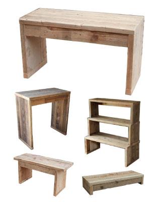 OLD ASHIBA 足場板古材 ベンチ シェルフ 踏み台 ステップ 台 ディスプレイ 腰掛 飾り棚 雑貨 サイズオーダー