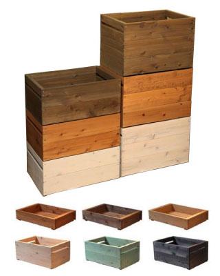 SUGI 国産杉 ラック ボックス 重ねる 並べる キッチン ベジタブル ナーセリー 雑貨 ディスプレイ