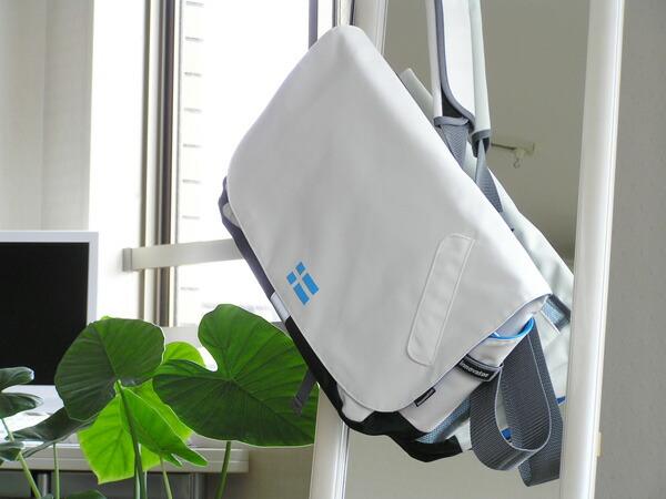 洗練されたデザインが都会的!innovatorのメッセンジャーバッグ