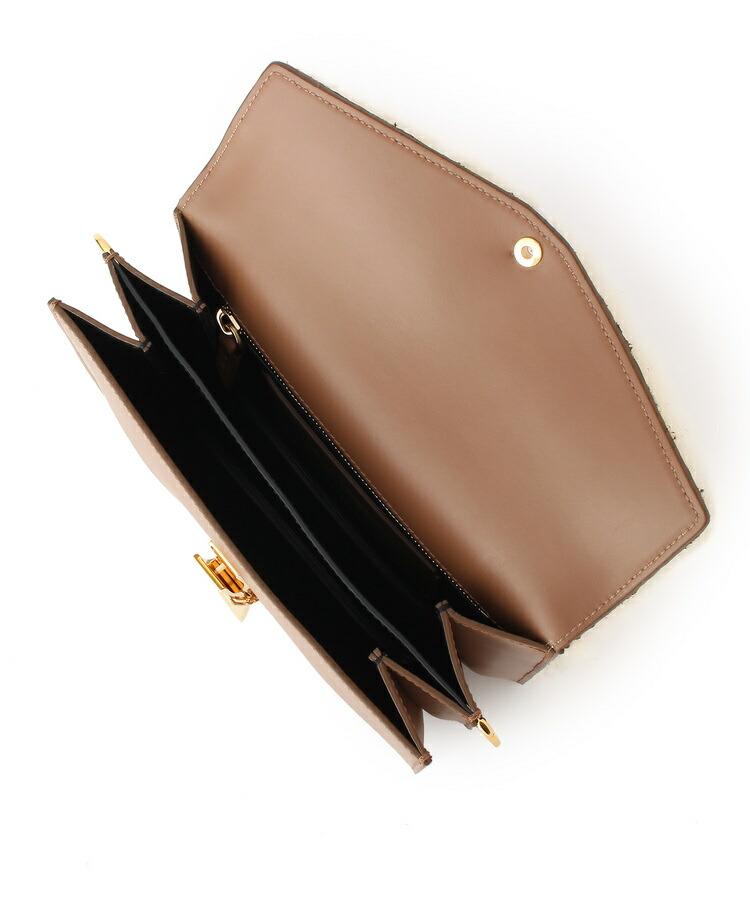 BR085(ドレステリア(レディース))通販 【DRESSTERIOR別注】ZANCHETTI(ザンチェッティ)ムートン付きハンドバッグ