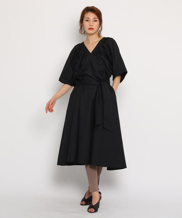 DRESSTERIOR(Ladies)(ドレステリア(レディース))通販|Merlette(マーレット)LANTE DRESS  コットン・ワンピースドレス(ブラック(019))