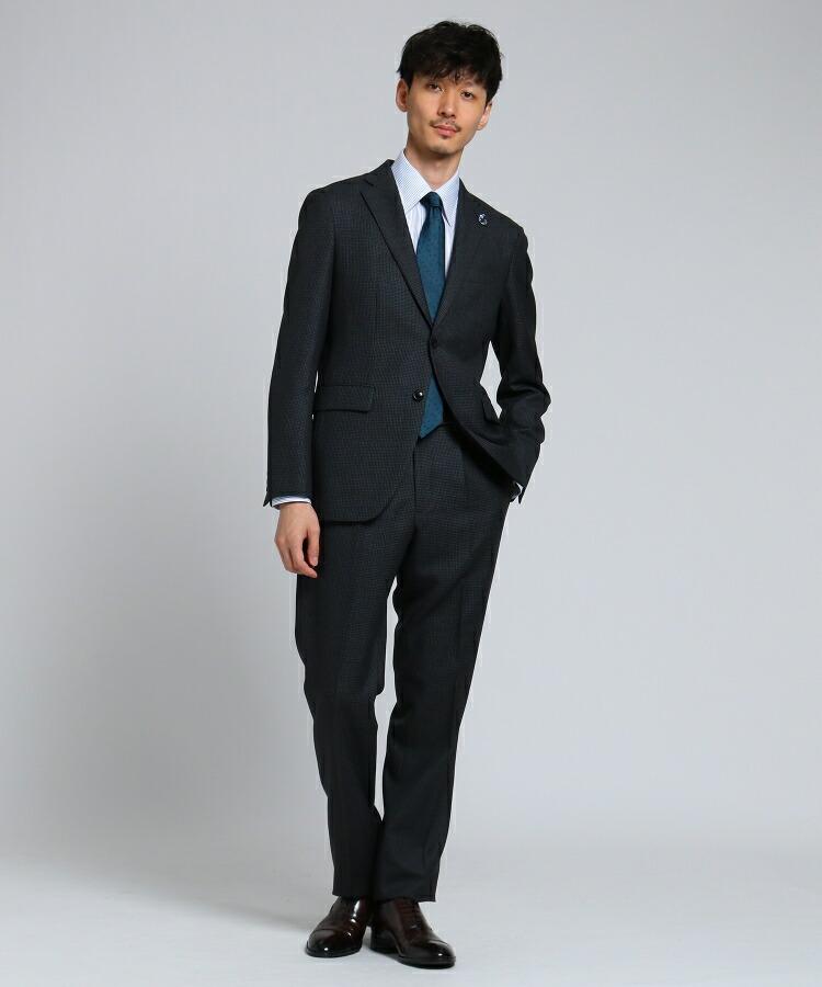 TAKEO KIKUCHI(タケオキクチ)通販 【PNJ】番千鳥 2Bスーツ[ メンズ スーツ ](チャコールグレー(414))
