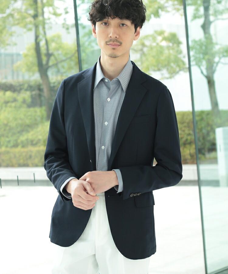 TAKEO KIKUCHI(タケオキクチ)通販|CS_コーデュラメッシュジャケット Fabric by CORDURA(R)(ダークネイビー(094))