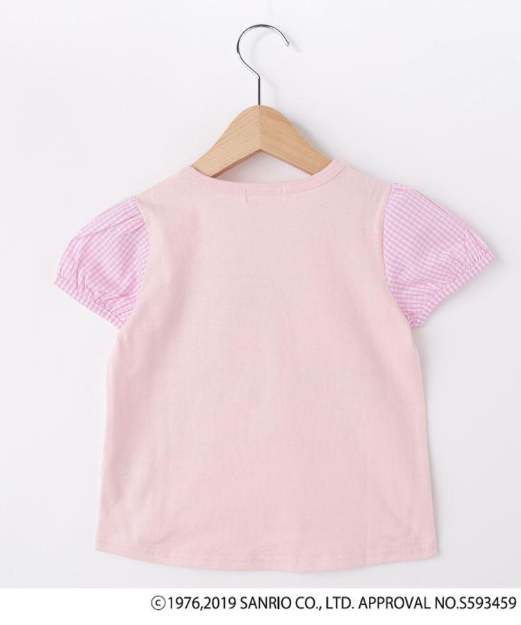 BR122(シューラルー /キッズ)通販|【ハローキティ】袖布帛Tシャツ