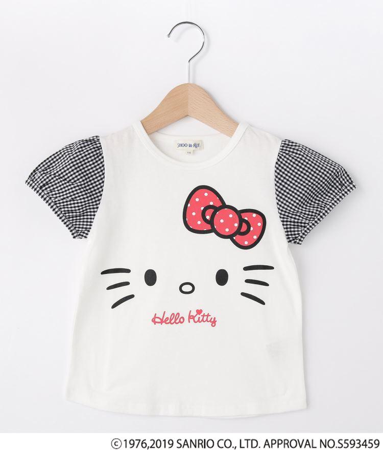 SHOO・LA・RUE/Kids(シューラルー /キッズ)通販|【ハローキティ】袖布帛Tシャツ(アイボリー(004))