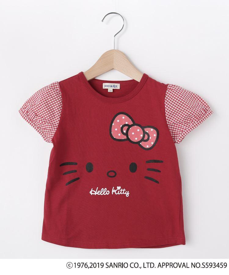 SHOO・LA・RUE/Kids(シューラルー /キッズ)通販|【ハローキティ】袖布帛Tシャツ(レッド(062))