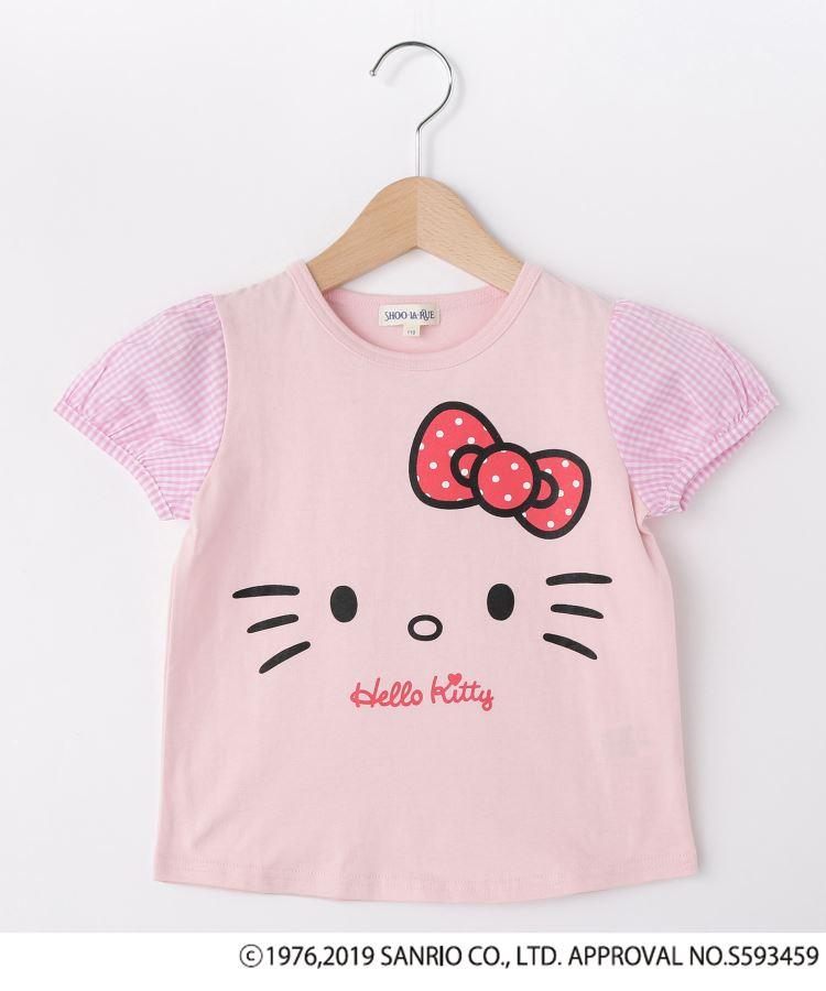 SHOO・LA・RUE/Kids(シューラルー /キッズ)通販|【ハローキティ】袖布帛Tシャツ(ベビーピンク(071))