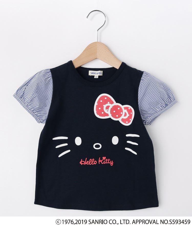 SHOO・LA・RUE/Kids(シューラルー /キッズ)通販|【ハローキティ】袖布帛Tシャツ(ネイビー(093))