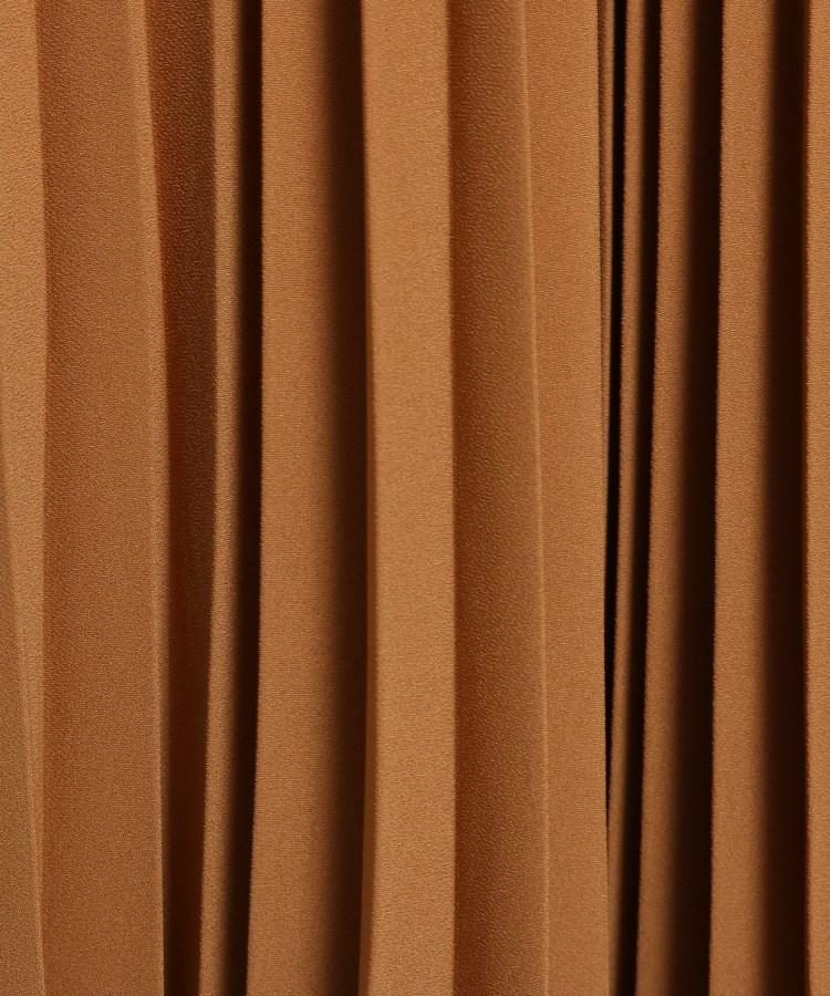 BR127(インディヴィ)通販|[L]【ハンドウォッシュ】サテンアムンゼンプリーツスカート